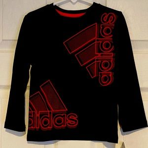 New Addidas Aeroready long sleeve T-shirt size 2T